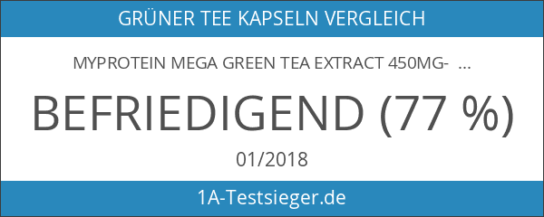 Myprotein Mega Green Tea Extract 450mg- 90 Caps