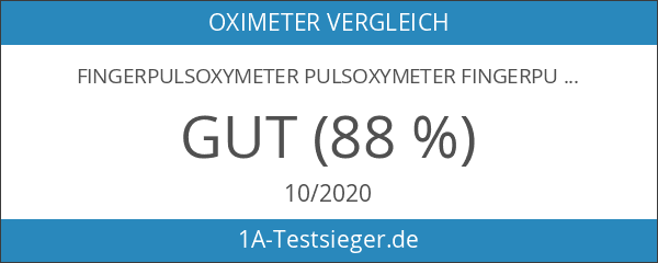 Fingerpulsoxymeter Pulsoxymeter Fingerpulsoximeter Modell MD300 C13 mit Batterien und Zubehör