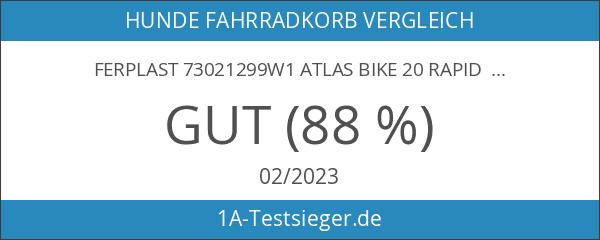 Ferplast 73021299W1 Atlas Bike 20 Rapid Hunde Fahrradtransportbox