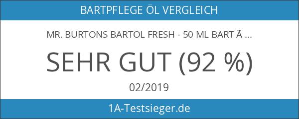 Mr. Burtons Bartöl FRESH - 50 ml Bart Öl für