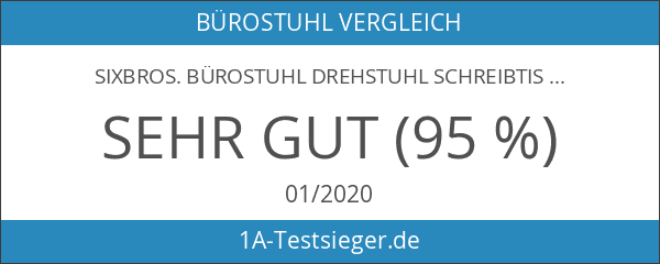 SixBros. Bürostuhl Drehstuhl Schreibtischstuhl Grün - H-2408F