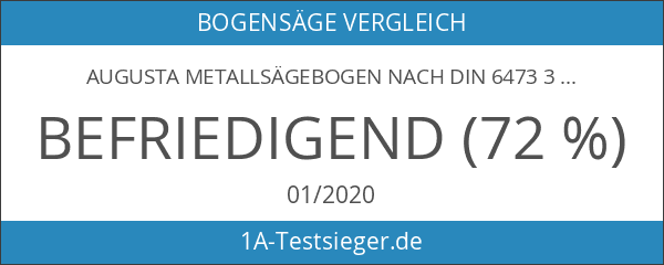 Augusta Metallsägebogen nach DIN 6473 300 mm für Eisen- und