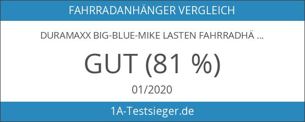 DURAMAXX Big-Blue-Mike Lasten Fahrradhänger Anhänger schwarz oder blau