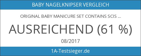 Original Baby Manicure Set Contains Scissors