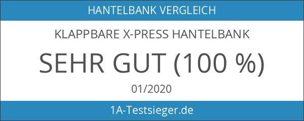 Klappbare X-Press Hantelbank