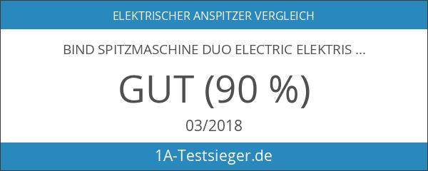 bind Spitzmaschine DUO Electric Elektrischer Anspitzer für Standard und Jumbo