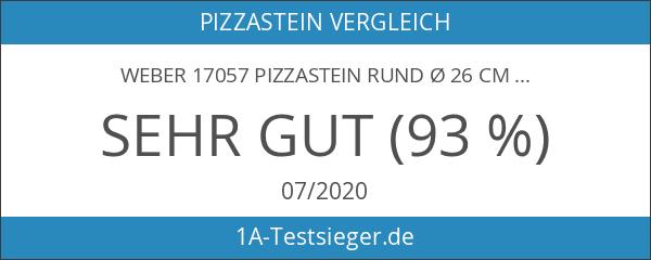 Weber 17057 Pizzastein Rund Ø 26 cm