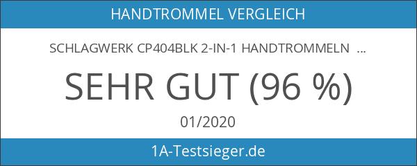 Schlagwerk CP404BLK 2-in-1 Handtrommeln schwarz edition