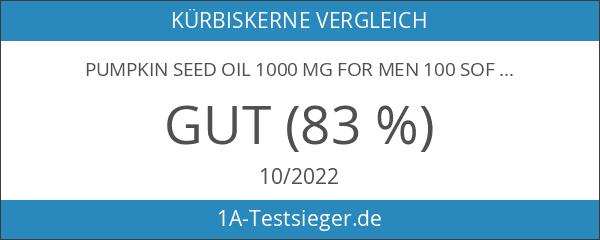 Pumpkin seed oil 1000 mg for men 100 Softgels