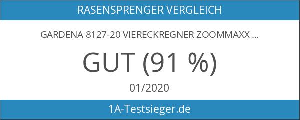 Gardena 8127-20 Viereckregner ZoomMaxx