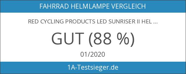 Red Cycling Products LED Sunriser II Helmlampe schwarz