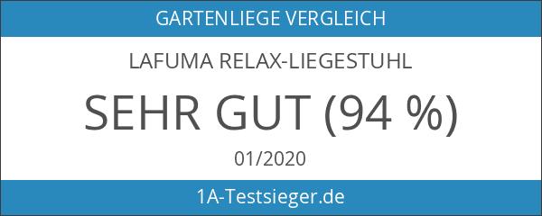 Lafuma LFM3051-6135 gepolsteter Relax-Liegestuhl