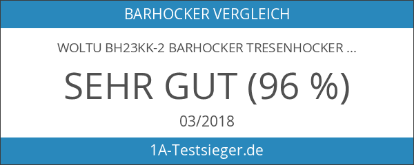 WOLTU BH23kk-2 Barhocker Tresenhocker