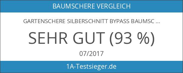 Gartenschere SILBERSCHNITT Bypass Baumschere