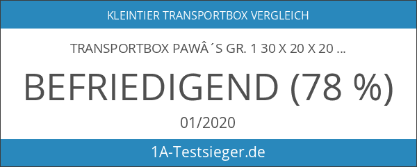 Transportbox Paw´s Gr. 1 30 x 20 x 20 cm