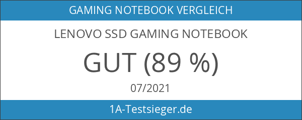 Lenovo SSD Gaming Notebook