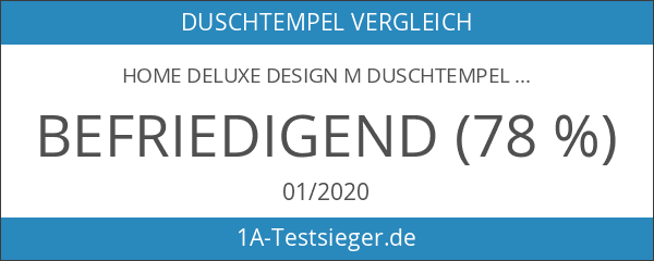 Home Deluxe Design M Duschtempel