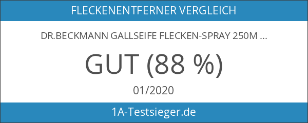 Dr.Beckmann Gallseife Flecken-Spray 250ml