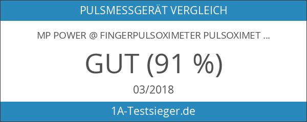 MP power @ Fingerpulsoximeter Pulsoximeter SpO2 PR Pulsmesser - Ermittelt
