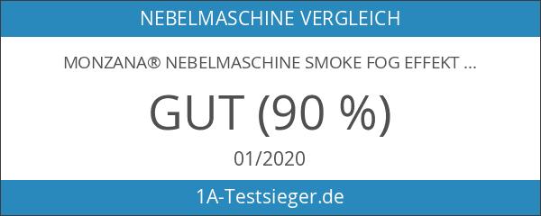 Monzana® Nebelmaschine Smoke Fog Effekt Heimnebelmaschine ✔400W ✔mit Fernbedienung ✔300ml
