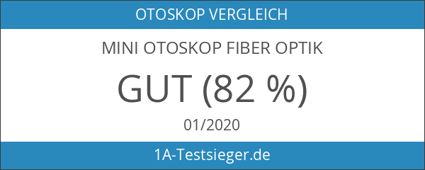 Mini Otoskop Fiber Optik