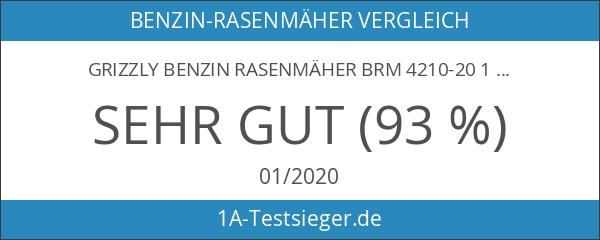 Grizzly Benzin Rasenmäher BRM 4210-20 1