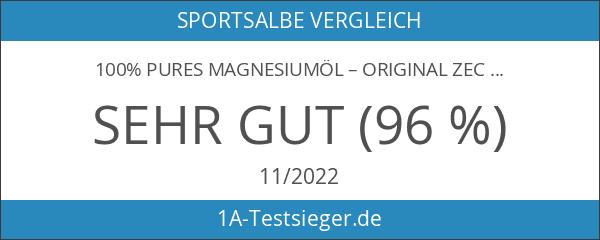 100% pures Magnesiumöl – Original Zechstein Magnesiumchlorid – Sprühflasche aus