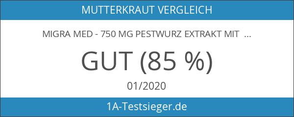 Migra MED - 750 mg Pestwurz Extrakt mit 200 mg