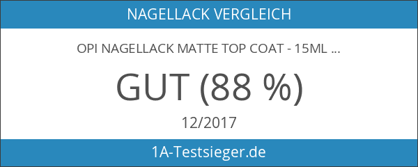 OPI Nagellack Matte Top Coat - 15ml