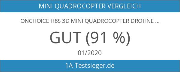 ONCHOICE H8S 3D Mini Quadrocopter Drohne 360° Eversion Inverted Flight