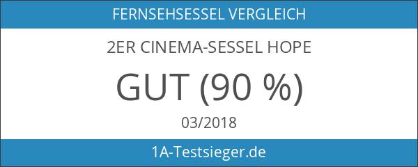 2er Cinema-Sessel HOPE