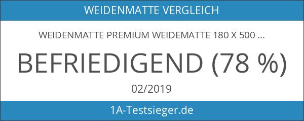 Weidenmatte Premium Weidematte 180 x 500 cm Sichtschutzmatte Weidenazaun Gartenzaun