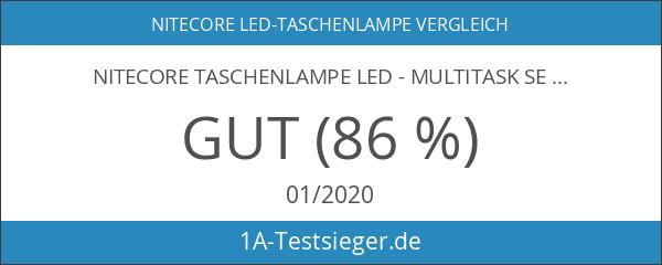 NiteCore Taschenlampe LED - Multitask Serie