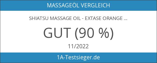SHIATSU Massage Oil - Extase Orange