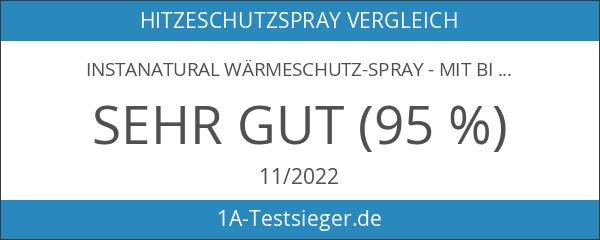 InstaNatural Wärmeschutz-Spray - Mit Bio-Arganöl - bestes Wärmeschutzmittel für Ihre