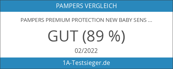 Pampers Premium Protection New Baby Sensitive Größe 1 2-5kg Tragepack