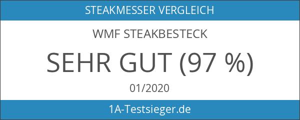 WMF Steakbesteck 12-teilig für 6 Personen in Holzkiste Cromargan Edelstahl