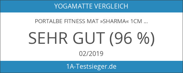 Portalbe Fitness Mat »Sharma« 1cm