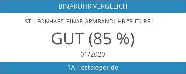 "St. Leonhard Binär-Armbanduhr ""Future Line"" für Herren"