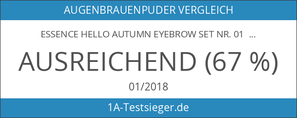 Essence Hello Autumn Eyebrow Set Nr. 01 Leaves Are The