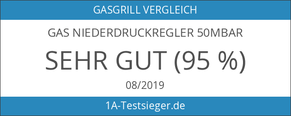 Gas Niederdruckregler 50mbar