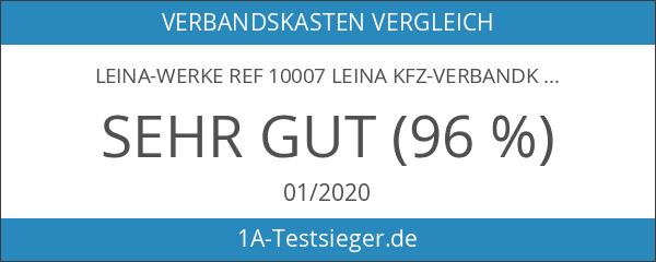 LEINA-WERKE REF 10007 Leina Kfz-Verbandkasten Standard