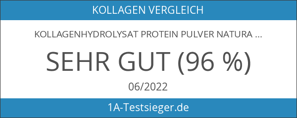 Kollagenhydrolysat Protein Pulver Natural Purity – 100% reines & bioaktives