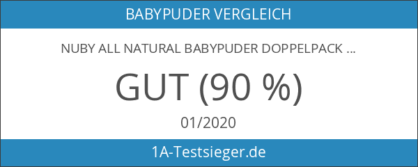 Nuby All Natural Babypuder Doppelpack