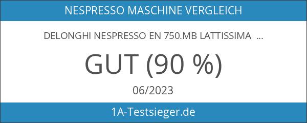 DeLonghi Nespresso EN 750.MB Lattissima Pro Silber