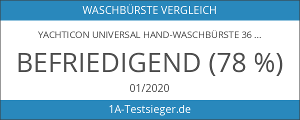 Yachticon Universal Hand-Waschbürste 36cm