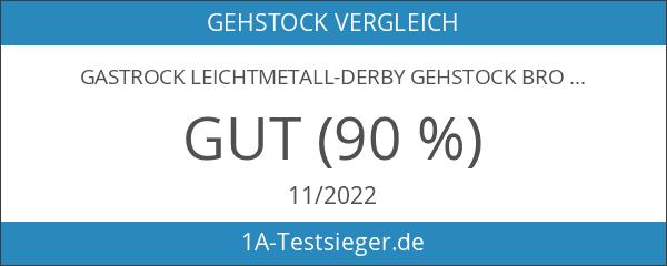 Gastrock Leichtmetall-Derby Gehstock bronze