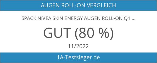 5Pack Nivea Skin Energy Augen Roll-on Q10 for men 5x