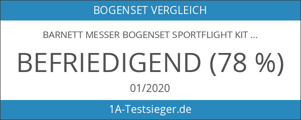 Barnett Messer Bogenset Sportflight Kit
