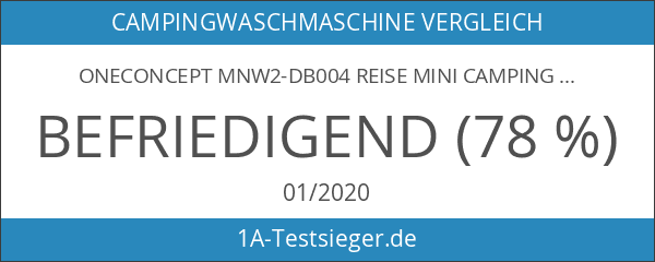 OneConcept MNW2-DB004 Reise Mini Camping-Waschmaschine TL